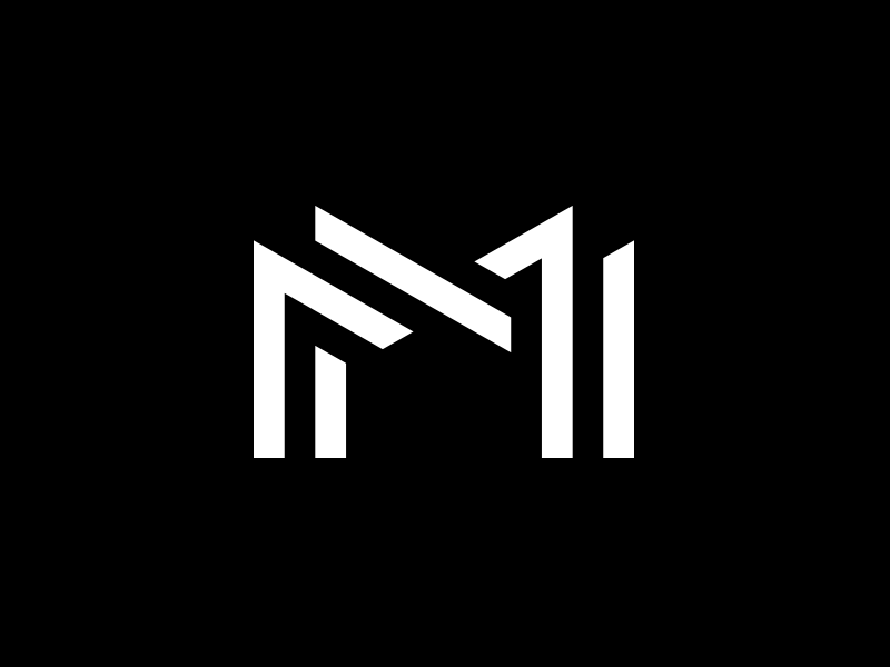 Finalized monogram, designed for Norwegian Nordic Combined athlete, Magnus Moan by Michael Spitz