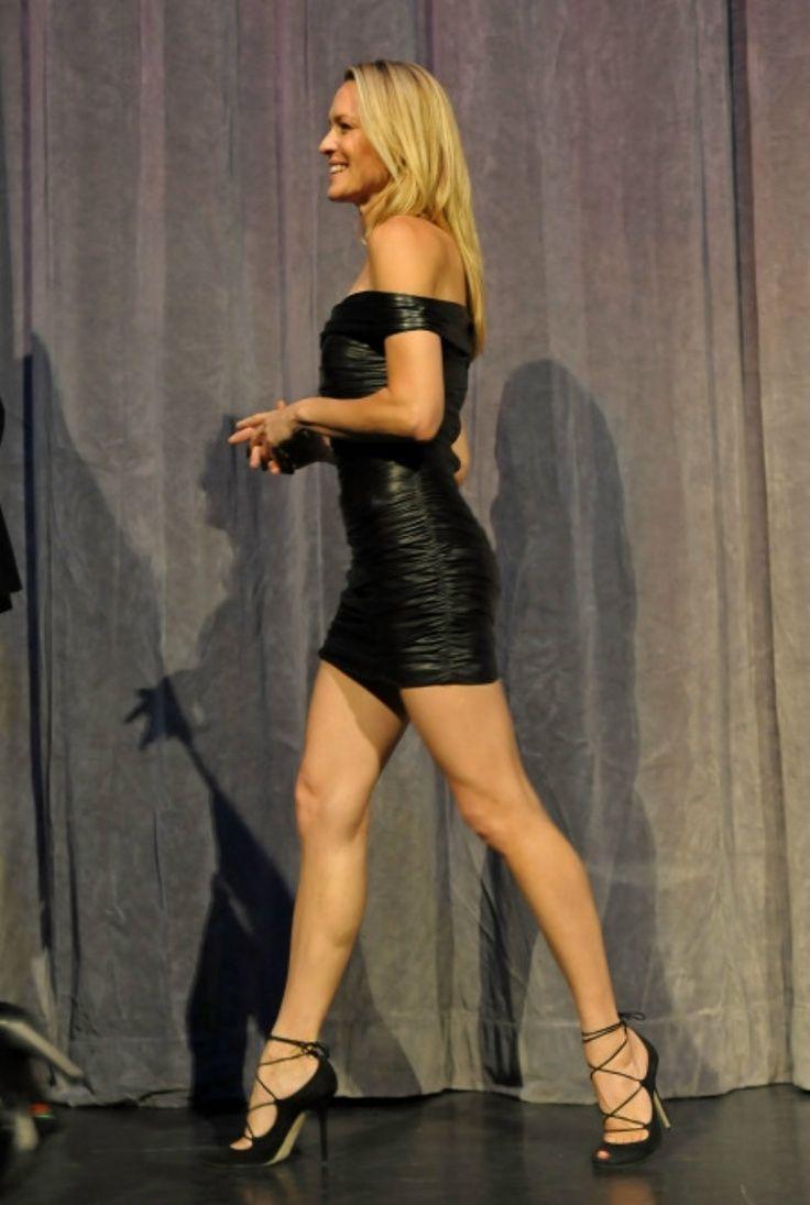 Robin Wright Robin Wright Short Dresses Sexy Dresses Strapless Mini Dress Killer