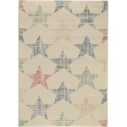 Photo of benuta Teppich Justin Beige/Multicolor 80×150 cm – Teppich mit Sternen benuta#80…