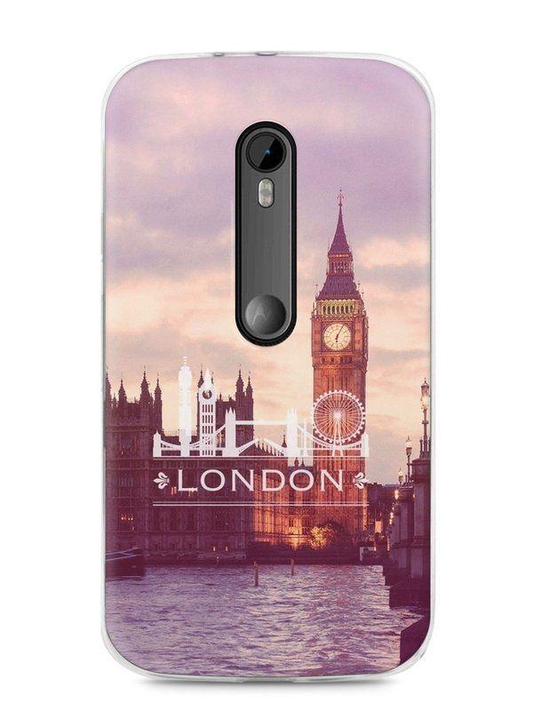 Capa Moto G3 Londres #1 - SmartCases - Acessórios para celulares e tablets :)