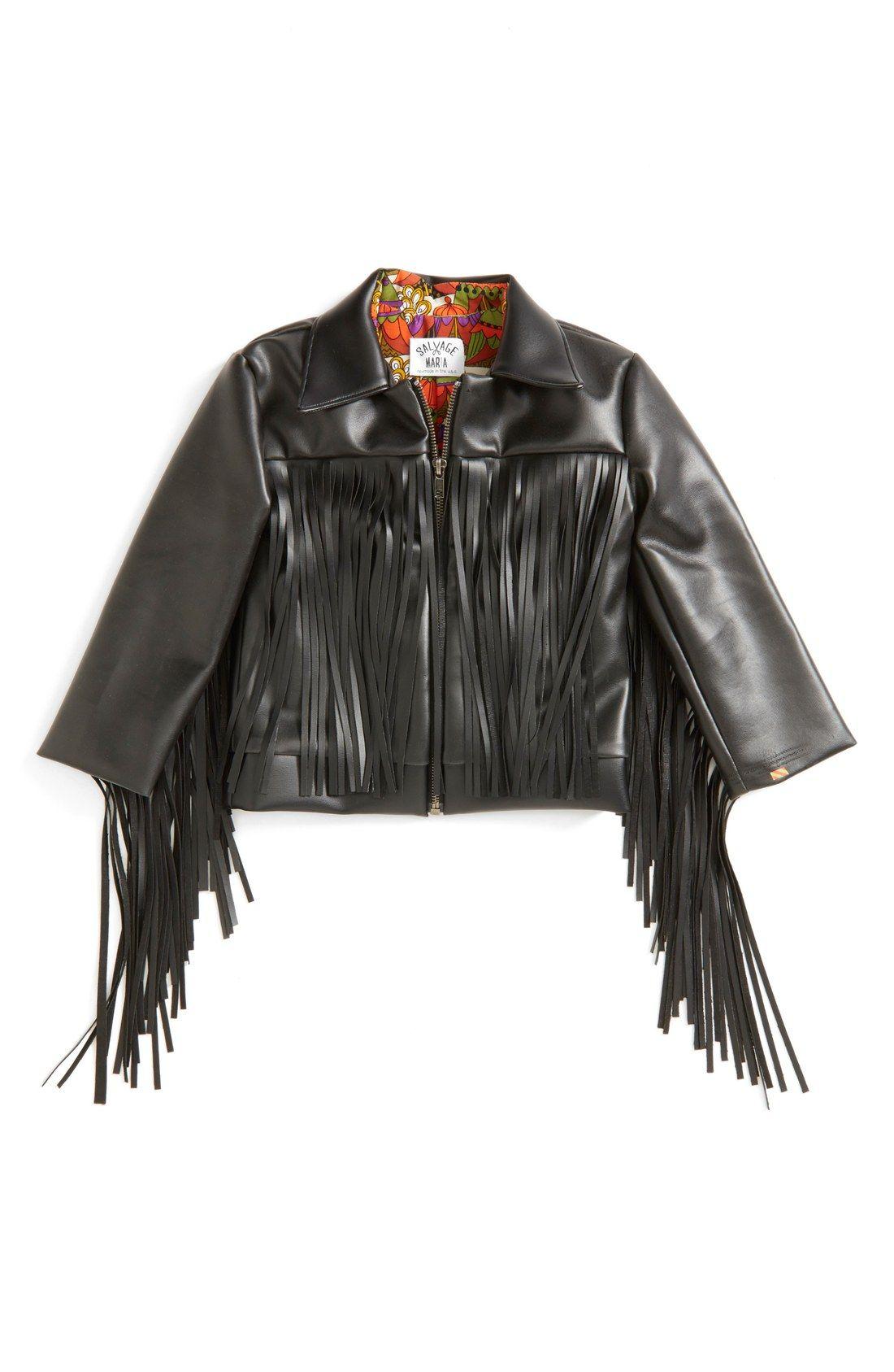Tmrw Tgthr Pop In Nordstrom Nordstrom Fringe Leather Jacket Toddler Girl Fringe Rock Star Outfit [ 1687 x 1100 Pixel ]