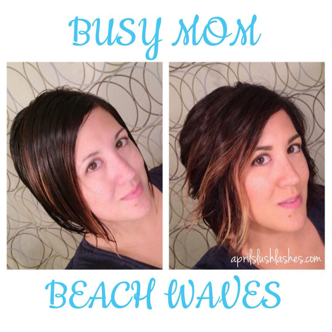 Busy mom beach hair gettinu pretty hair pinterest easy beach