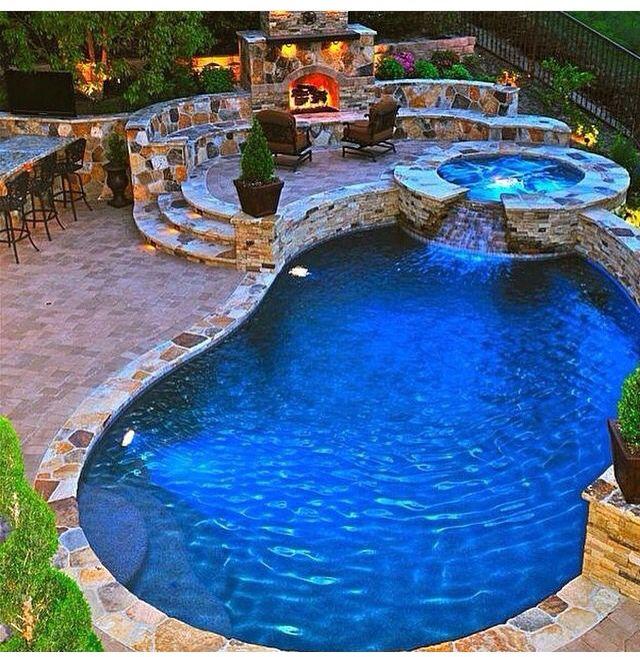 Merveilleux Ideal Outdoor Pool