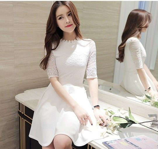 JNS2224 dress white $21.10 35XXXX1448510-LA1LVE14