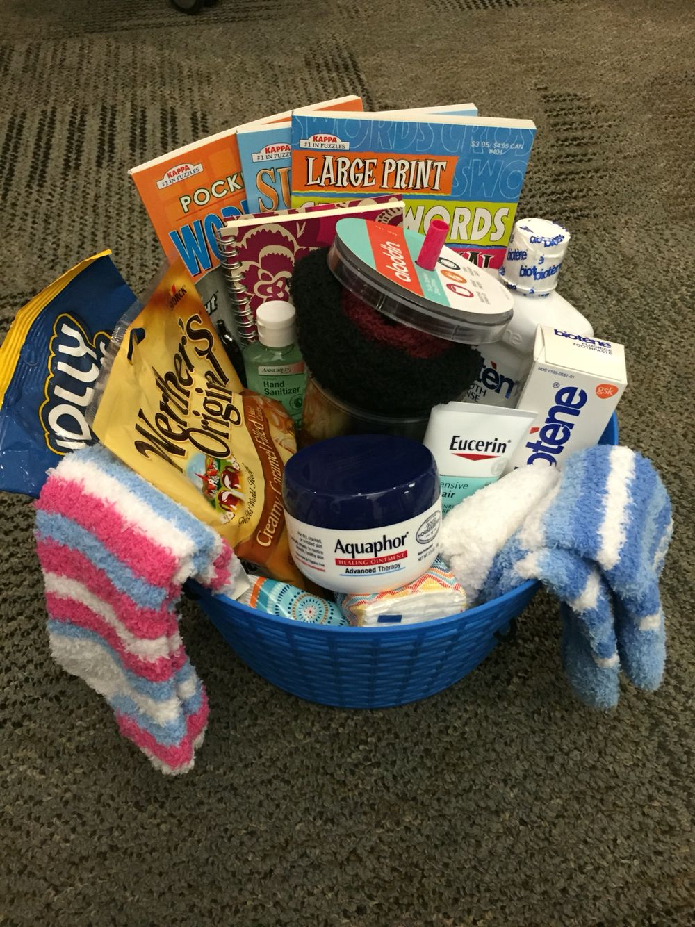 Gift Basket For Someone Doing Chemotherapy Chemo Care Package Cancer Gift Baskets Cancer Care Package