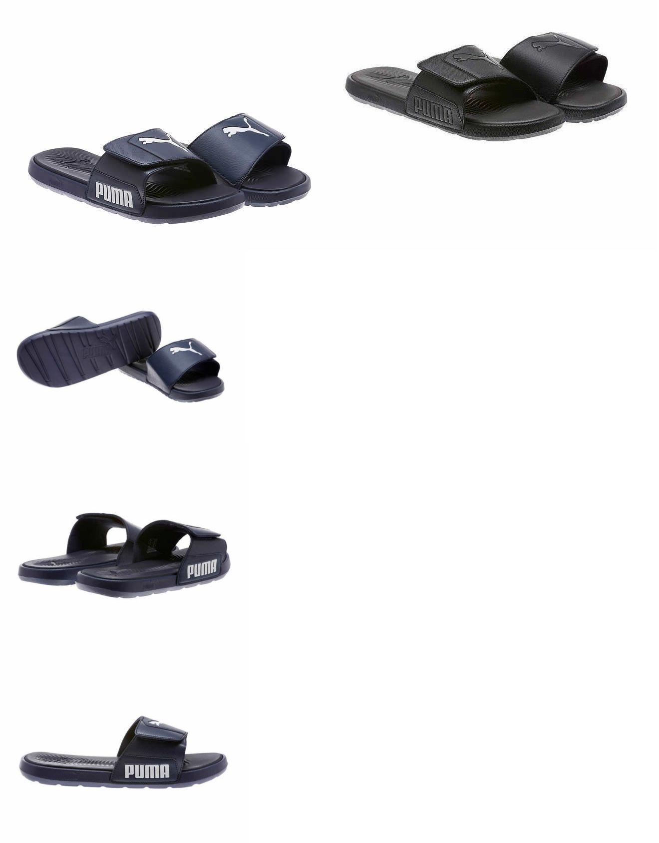 6248cf4c070d Sandals 11504  Puma Men S Starcat Tech Slides Sandals Flipflop Pick Size  And Color -  BUY IT NOW ONLY   14.95 on  eBay  sandals  starcat  slides   flipflop   ...