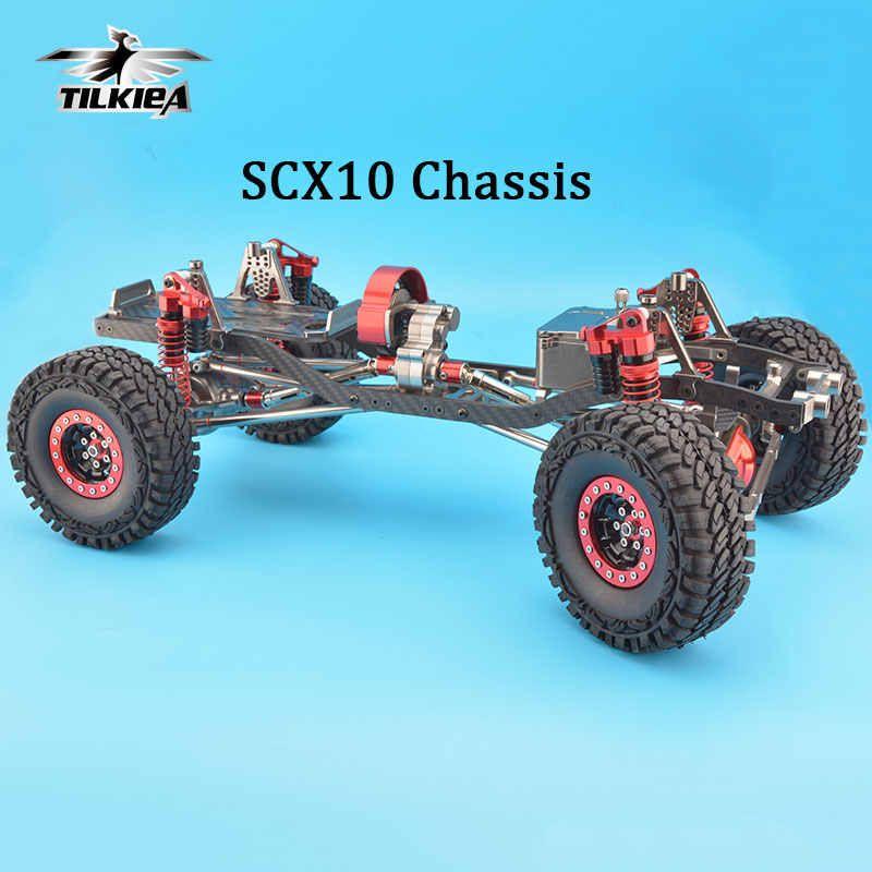 Rc Cnc Alloy Scx10 Chassis Carbon Frame 1 10 Scale 4wd Rock Crawler Frame Kit Assembled Frame Kit Kit Assemblyrock Crawler Kits Aliexpress Rock Crawler 1 10 Scale Rock Crawler Chassis