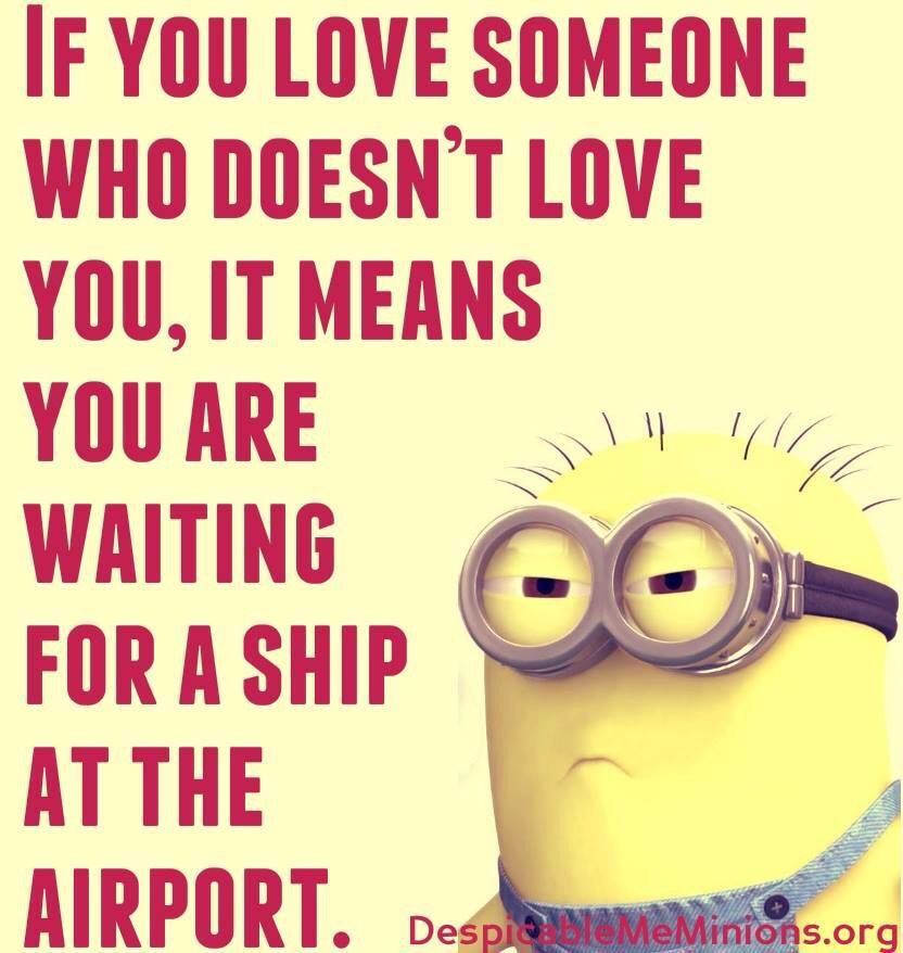 If You LOVE Someone Who Doesn't LOVE You..,