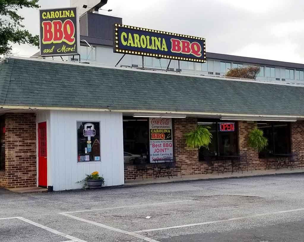 Carolina Barbecue More Restaurant In Spartanburg Destination Bbq In 2021 Bbq Barbecue Best Bbq