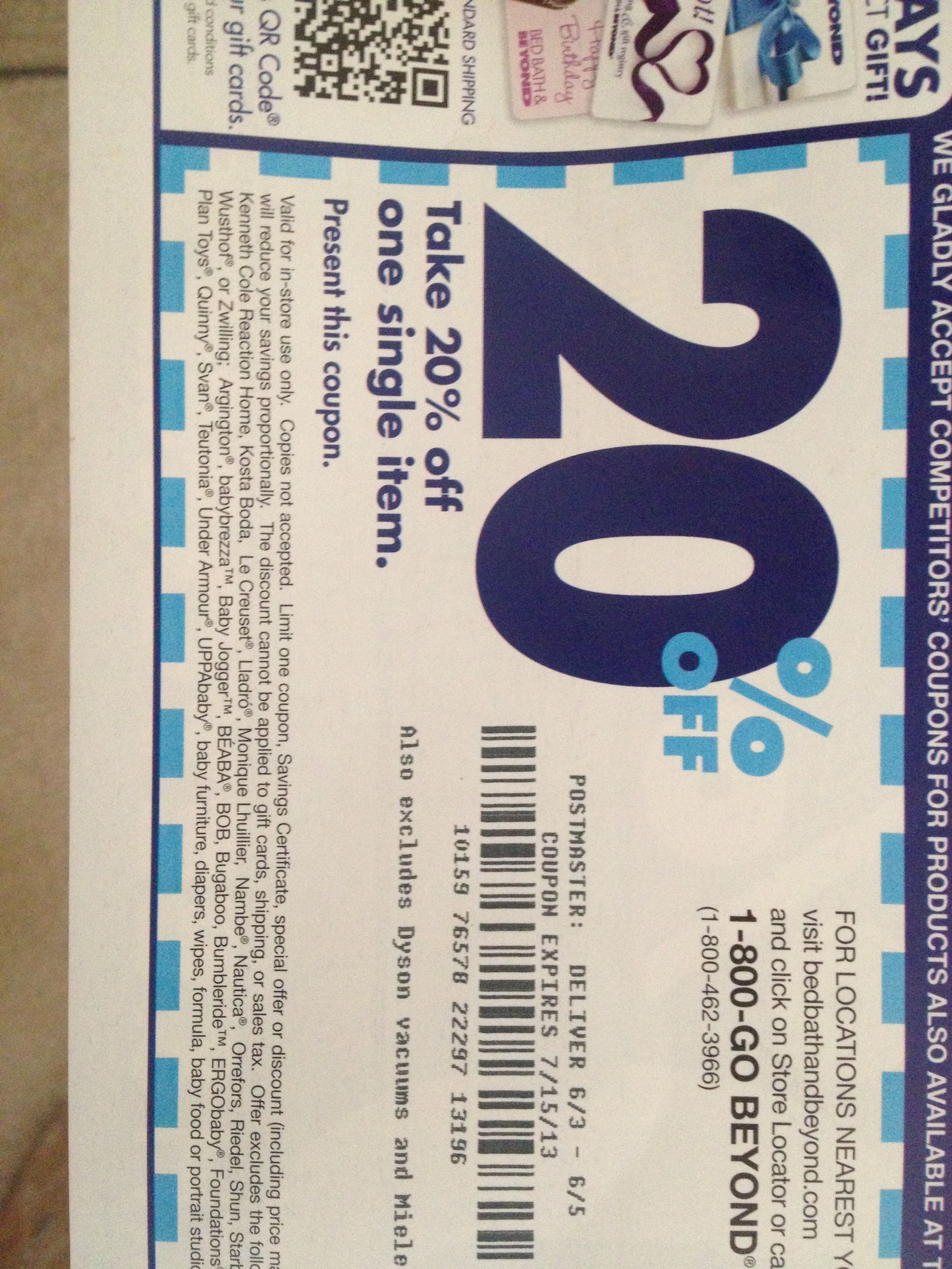 I love that these coupons get sent out regularly, and that