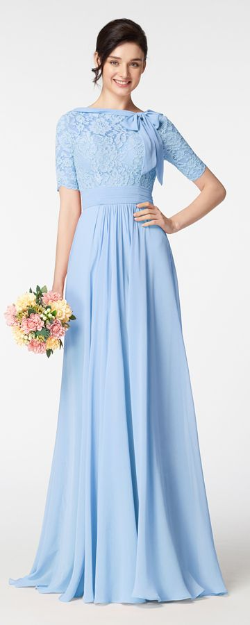 Light Blue Modest Prom Dresses With Sleeves Plus Size Prom Dresses Long Light Grey Bridesmaid Dresses Light Blue Prom Dress Modest Bridesmaid Dresses