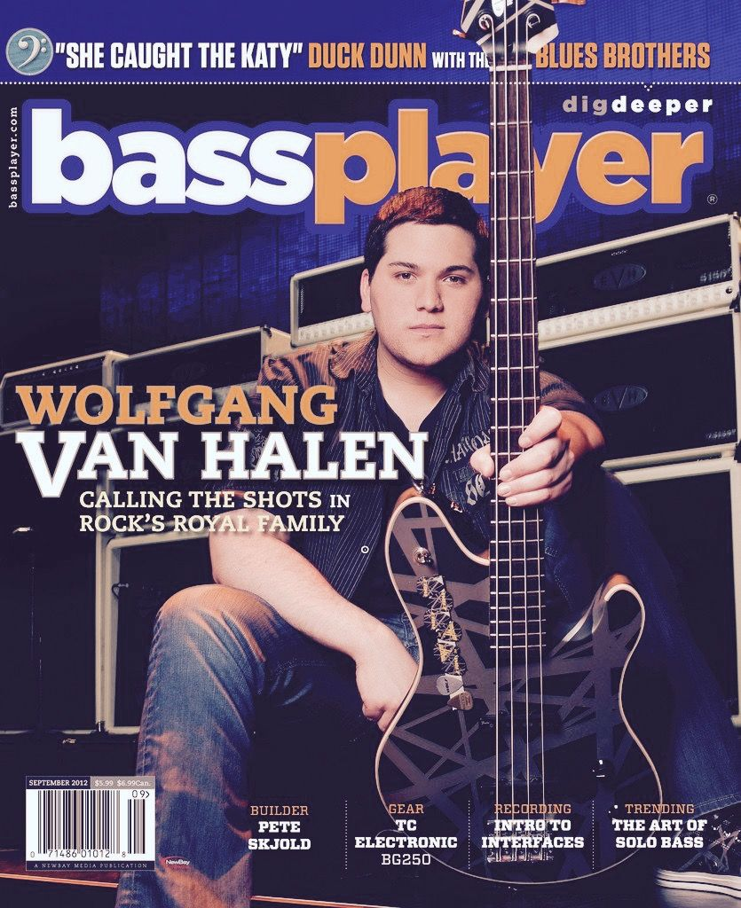 Wvh Bassplayer Magazine With Images Van Halen Eddie Van Halen David Lee Roth
