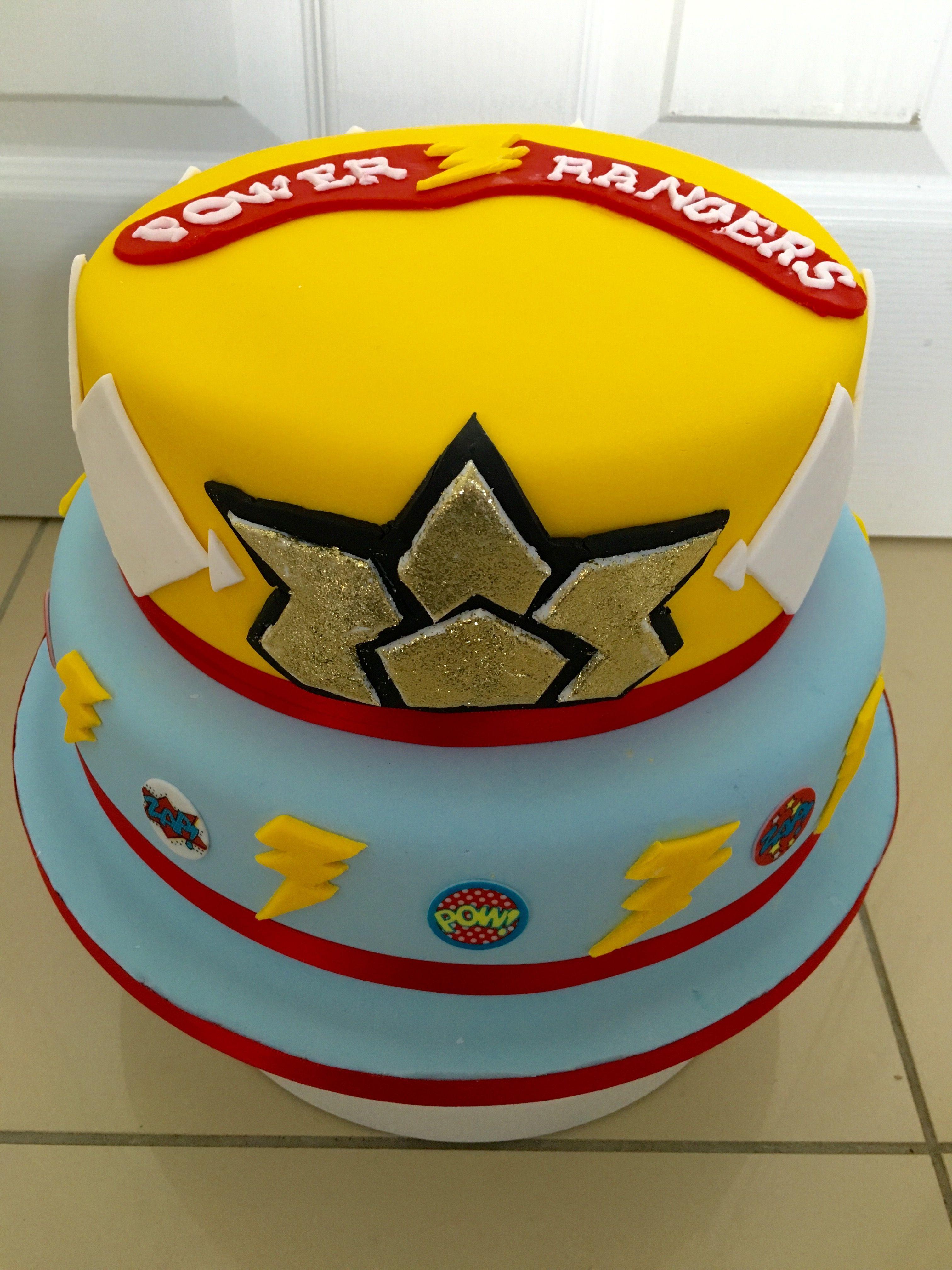 Power Rangers cake | Mickey Mouse | Pinterest | Power ranger cake ...