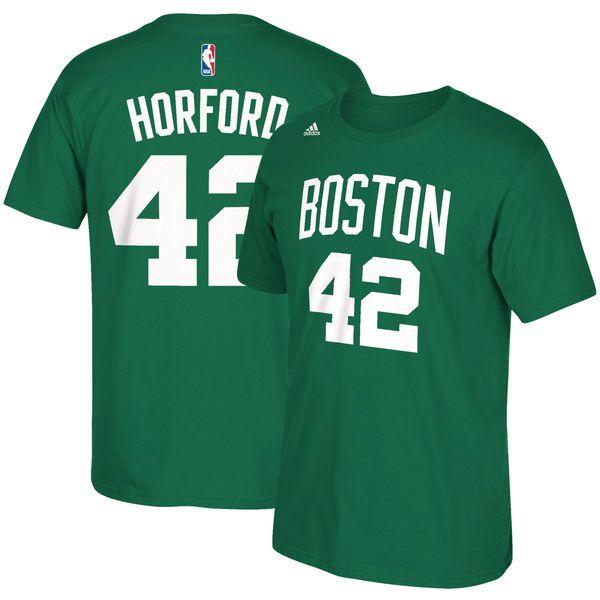 bdc6d1d83 Al Horford Boston Celtics adidas Net Number T-Shirt - Kelly Green ...