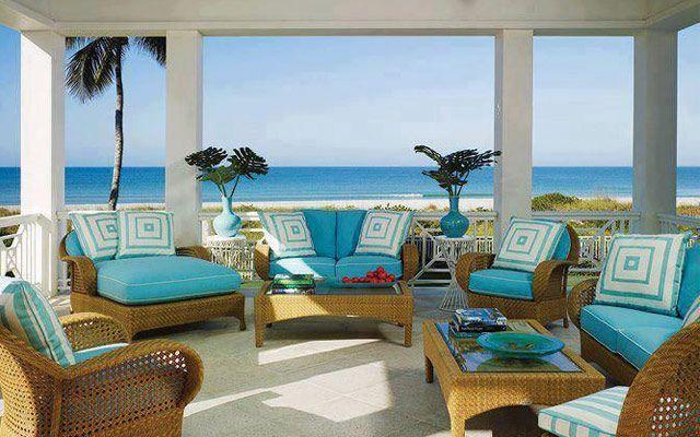 Decorar Terrazas Con Vistas Al Mar Casas De Playa Casas