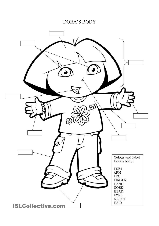 Doras body กิจกรรมเด็กก่อนวัยเรียน, คณิตศาสตร์ชั้นอนุบาล