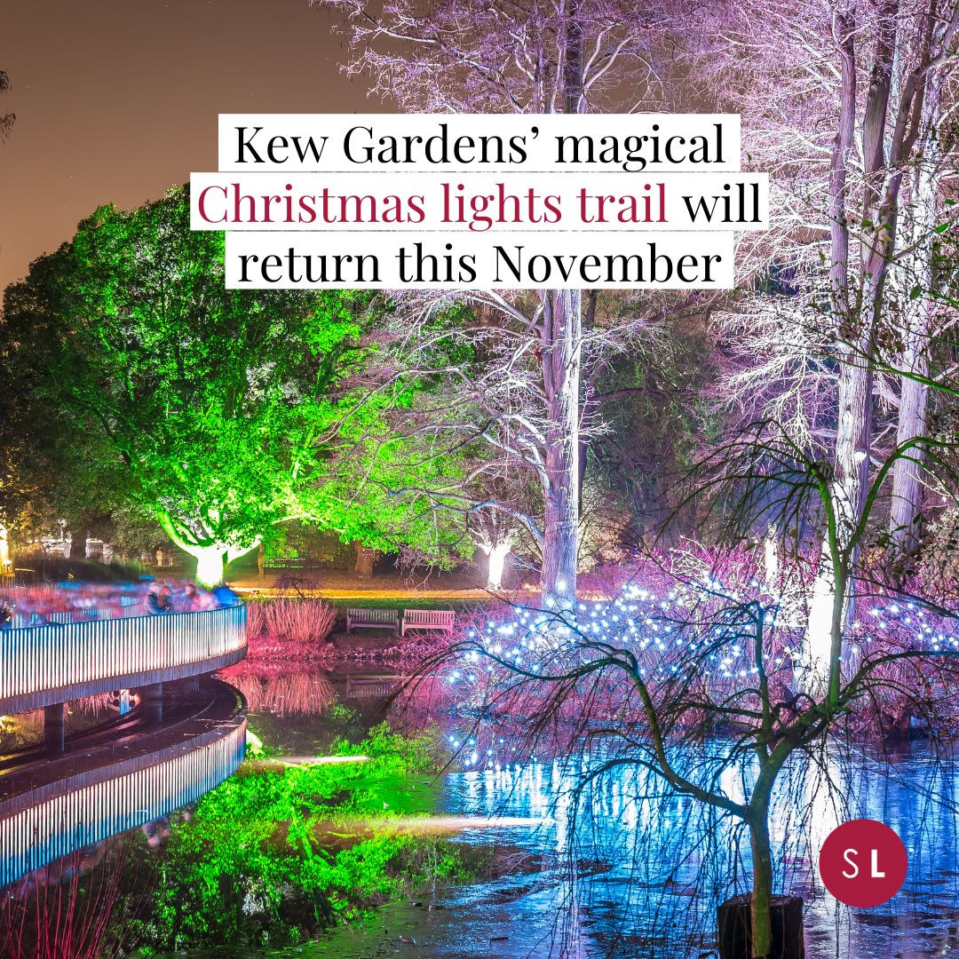 Secret London On Instagram Link In Bio Christmas At Kew Is A Magical Experience And They Ve Added Some Stunning New Attractions Kew Gardens Kew Instagram