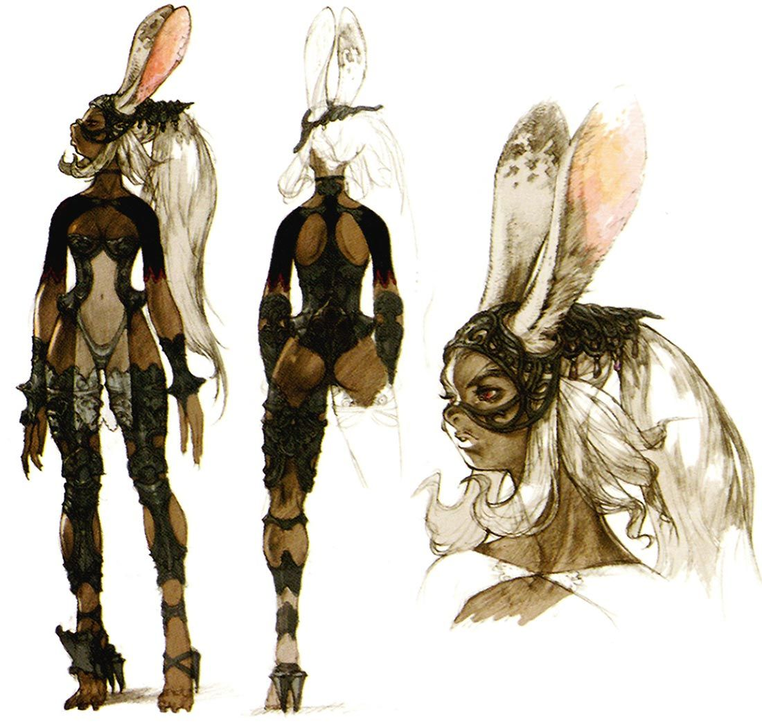 Character Design Final Fantasy Xii : Creative uncut updated their ff gallery with much bigger