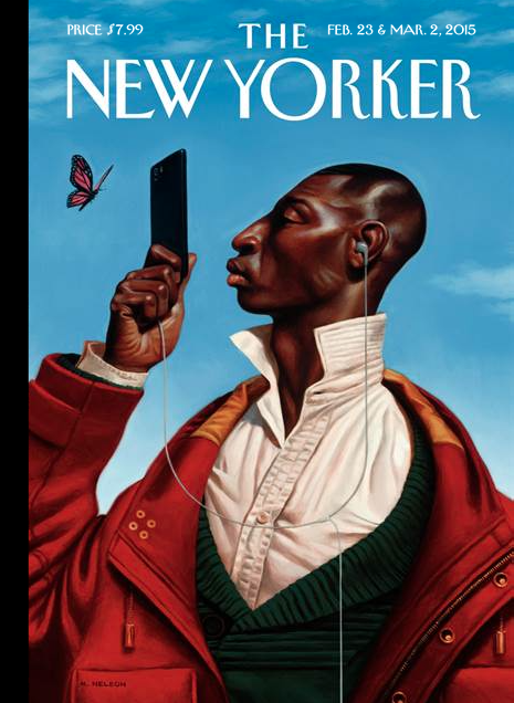February 23 & March 2, 2015 - Kadir Nelson - One of nine covers for the 90th anniversary issue