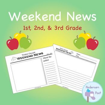 Weekend News Template Students and Activities