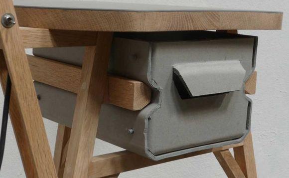 Jeroen wand papier mach furniture furnitures for Paper mache furniture ideas