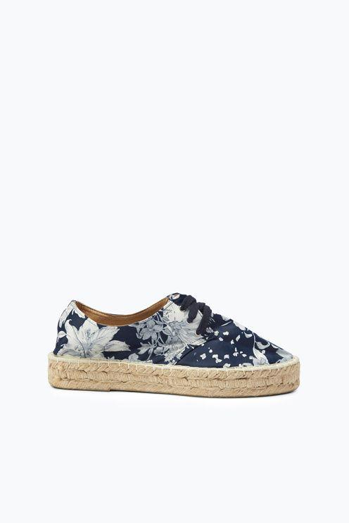 096a9953a930 Ellos Shoes Espadriller med plateau
