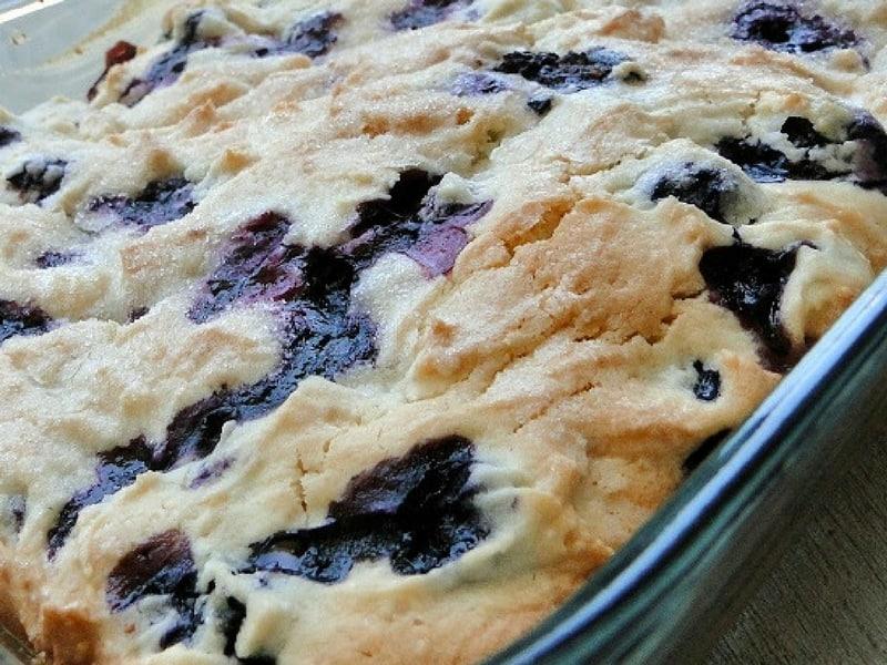 Buttermilk Blueberry Breakfast Cake   Recipes & Me