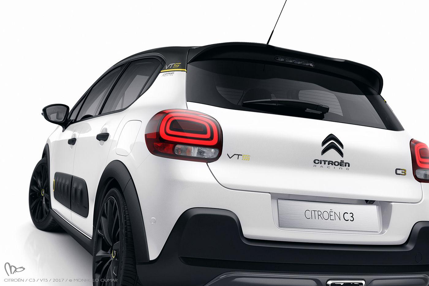 Citroen C3 Vts 2017 On Behance Citroen C3 Automobile Voiture Mercedes