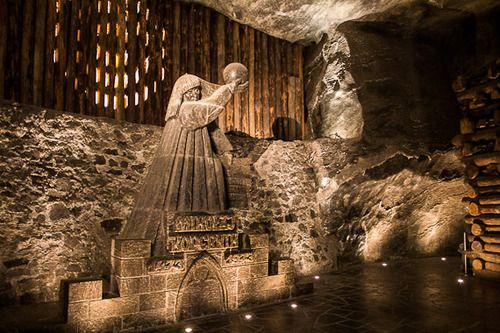 Wieliczka Salt Mine Poland For The Miners Who Worked Underground The Tunnels And Caverns Were A Second Home And Wieliczka Salt Mine Wieliczka Salt Mining