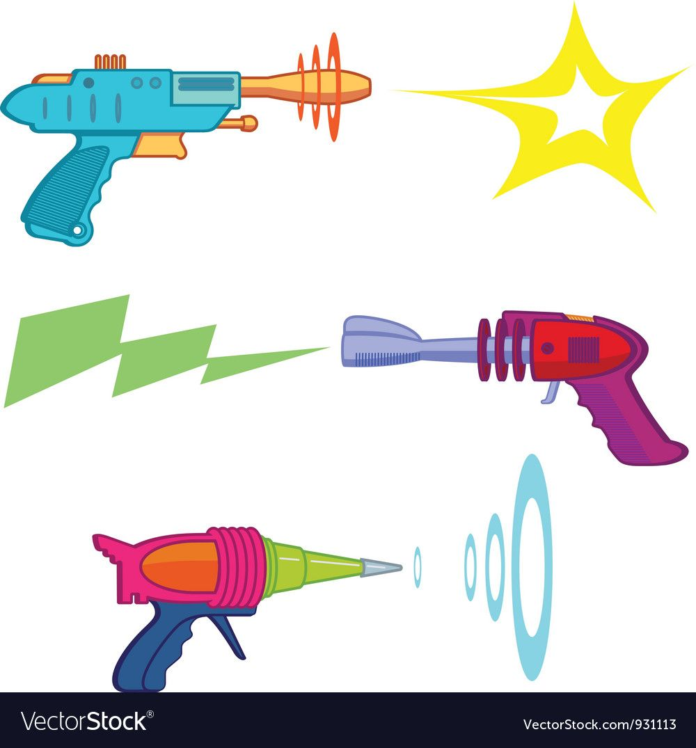 Retro Style Raygun Arsenal Download A Free Preview Or High Quality Adobe Illustrator Ai Eps Pdf And High Resolu Vector Free Free Vector Images Vector Images