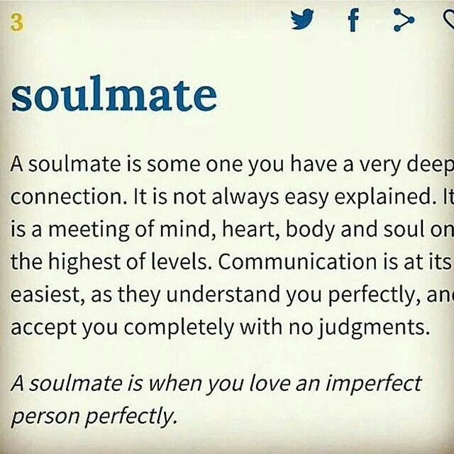 what does soulmate mean