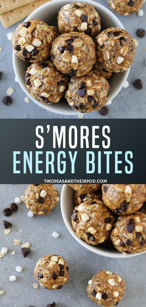 S'mores Energy Bites Recipe
