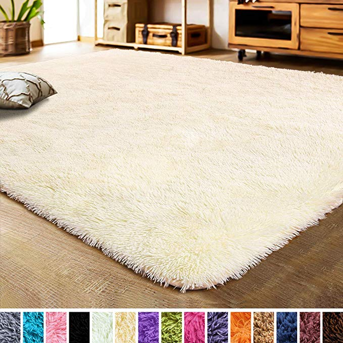 Amazon Com Lochas Luxury Velvet Bedroom Rugs Living Room Carpet