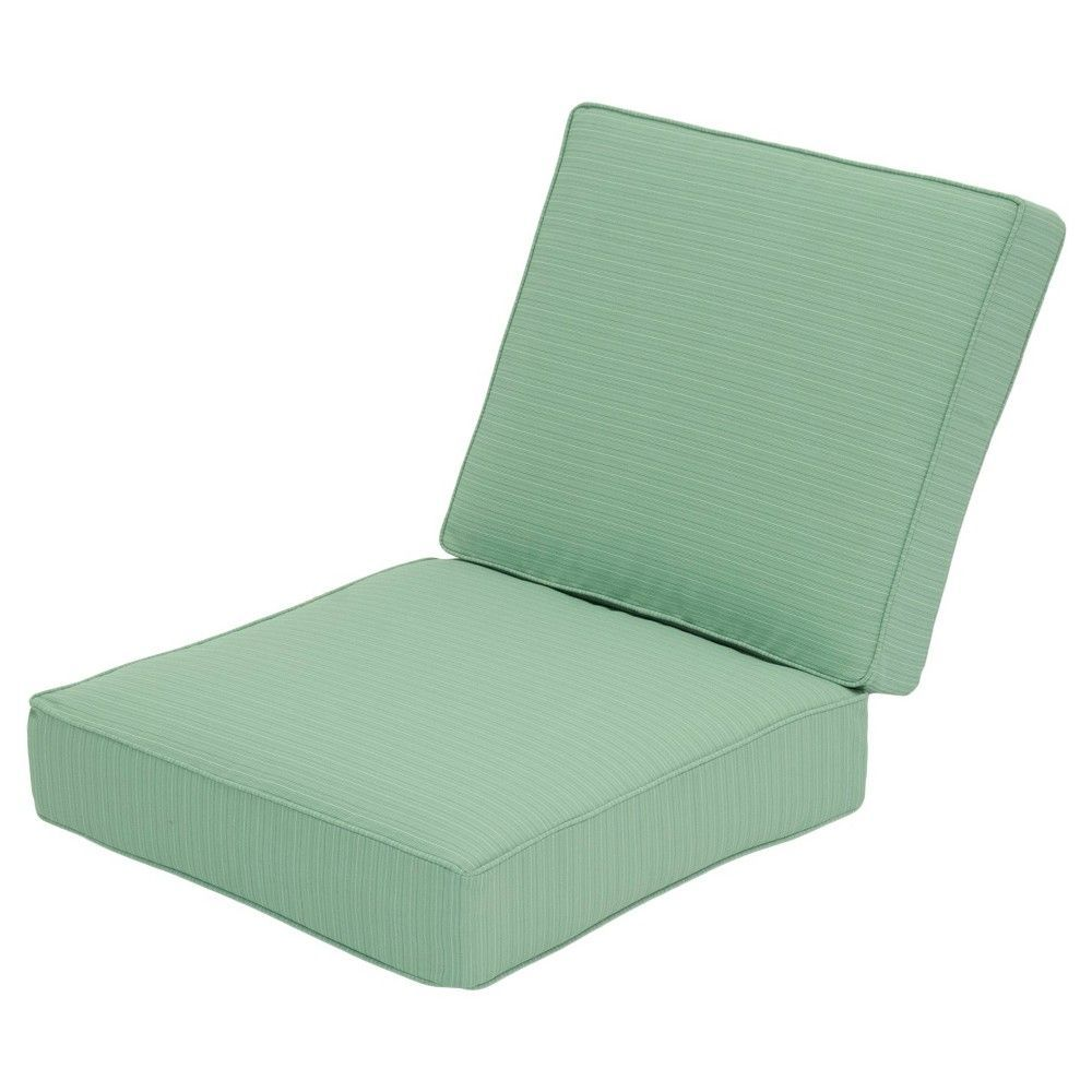 Belvedere 2 Piece Replacement Patio Club Chair Loveseat Cushion Set