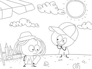 Babytv Free Printable Coloring Pages
