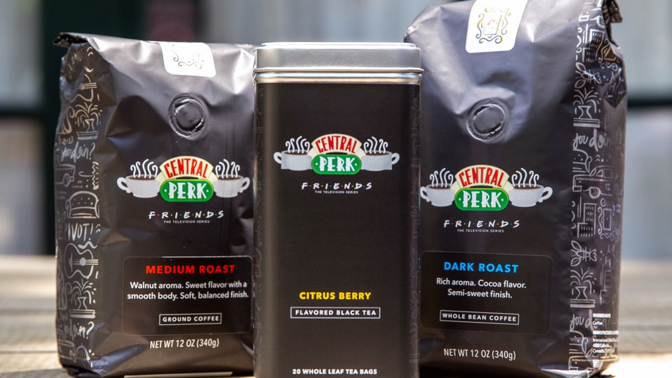 Oh My God Coffee Bean Tea Leaf Release Friends Special Edition Central Perk Roasts In 2020 Coffee Beans Tea Leaves How To Order Coffee