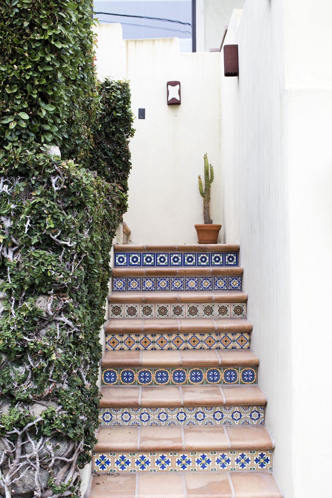 Los Angeles Go List Tile Stairs Southwestern Decorating