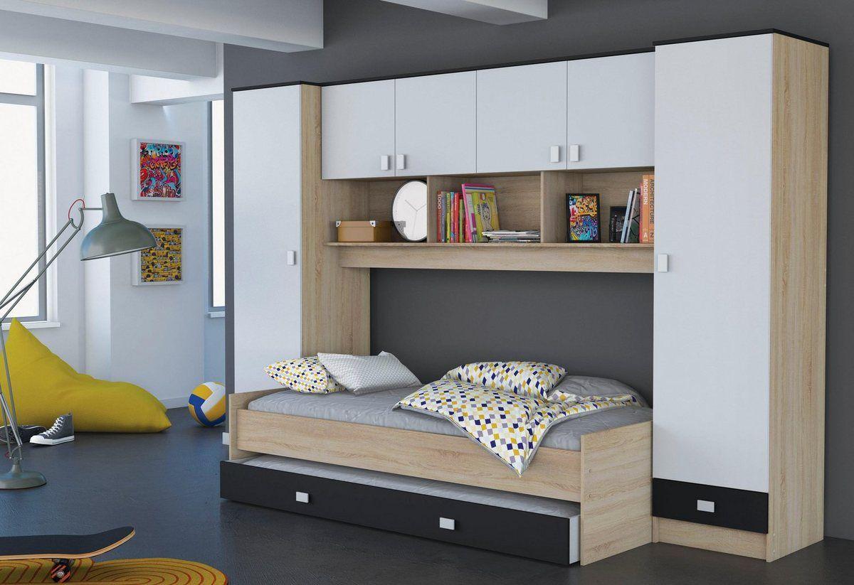 Demeyere Bett mit Überbau und Schubkasten in 2020