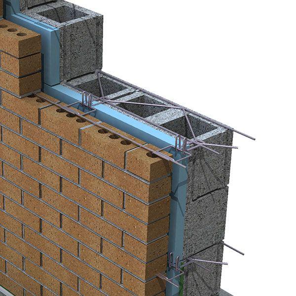 180 Truss Reinforcement W Byna Lok Wire Tie Construction Details Architecture Brick Construction Brick Design