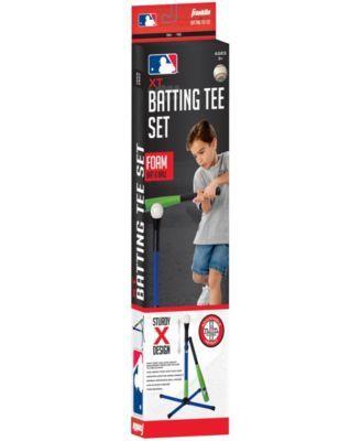 Franklin Sports Mlb Xt Youth Batting Tee Foam Set Multi Batting Tee