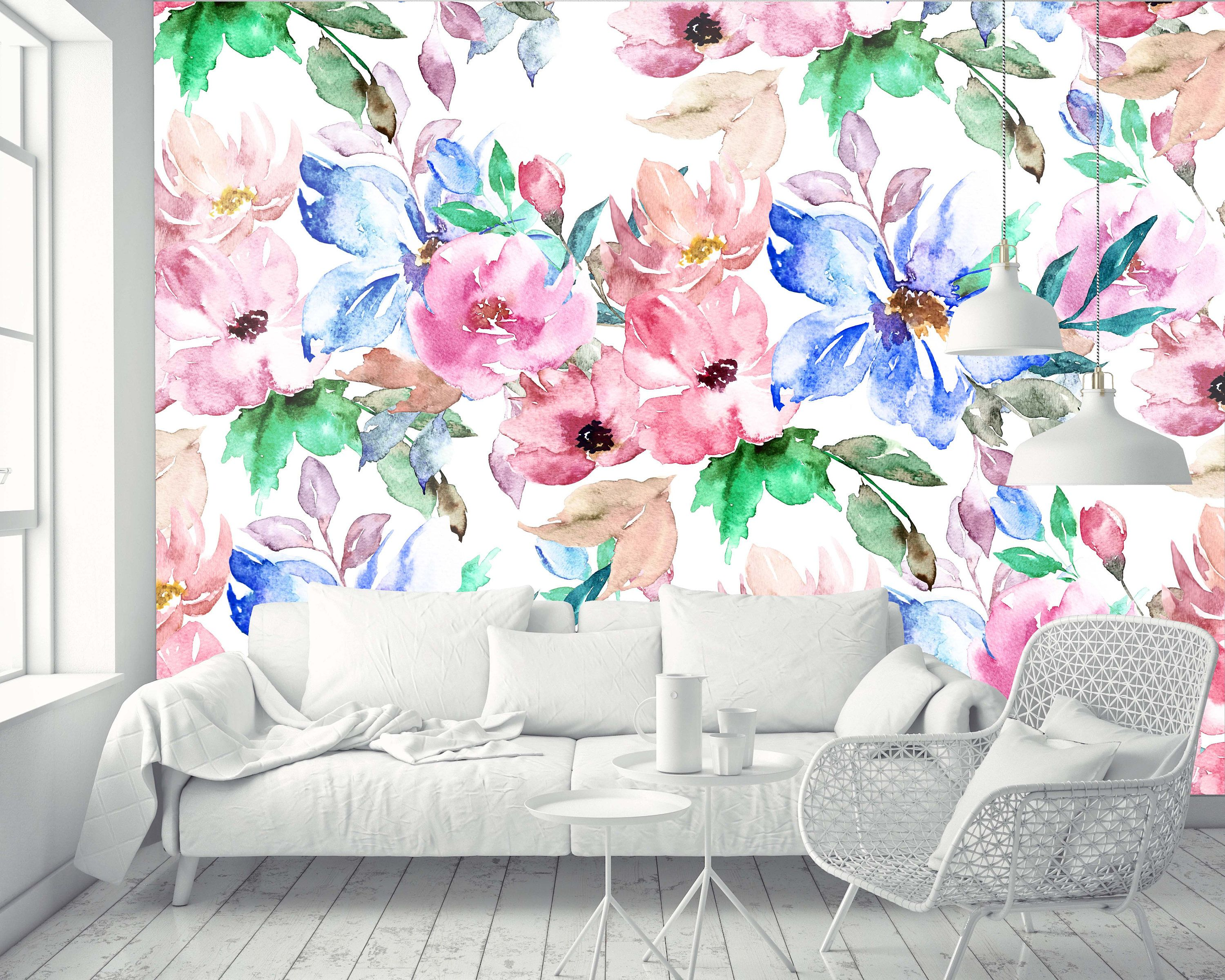 Removable Wallpaper Mural Peel & Stick Nursery Wallpaper
