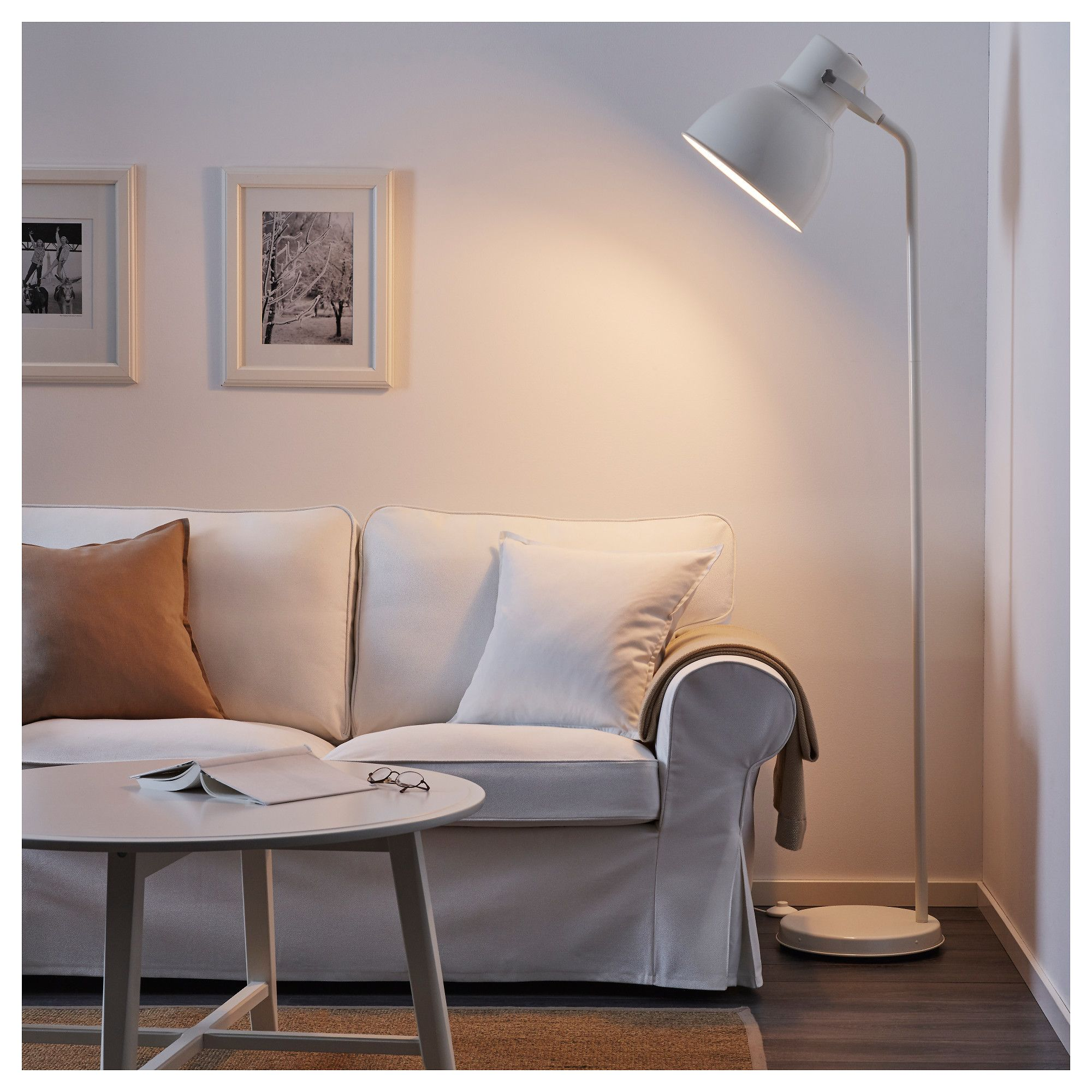 IKEA   HEKTAR Floor Lamp White