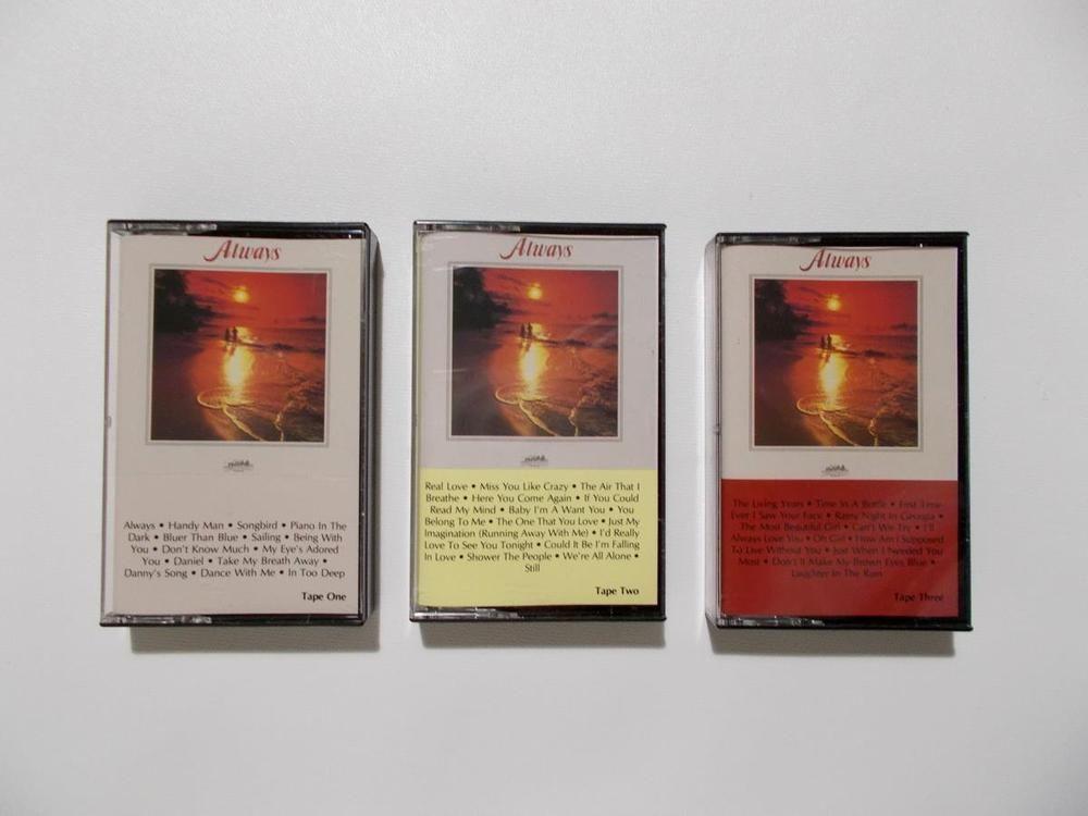Heartland Music Always 3 Cassette Tape Set Love Songs #EasyListeningLoveSongs