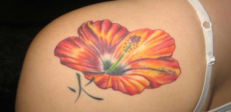 33 Hibiscus Flower Tattoos With Unique And Colorful Meanings Tattoos Win Tattoodesignsunique Flower Tattoos Hibiscus Flower Tattoos Hibiscus Tattoo
