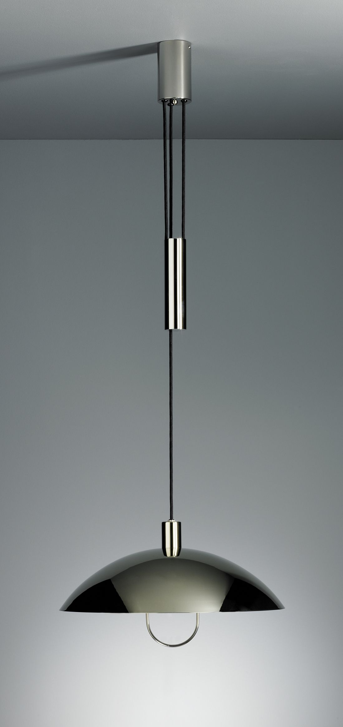 Bauhaus pendant lamp marianne brandt and hans przyrembel 1925 - Ceiling Light Marianne Brandt 1925 Pendulum Light