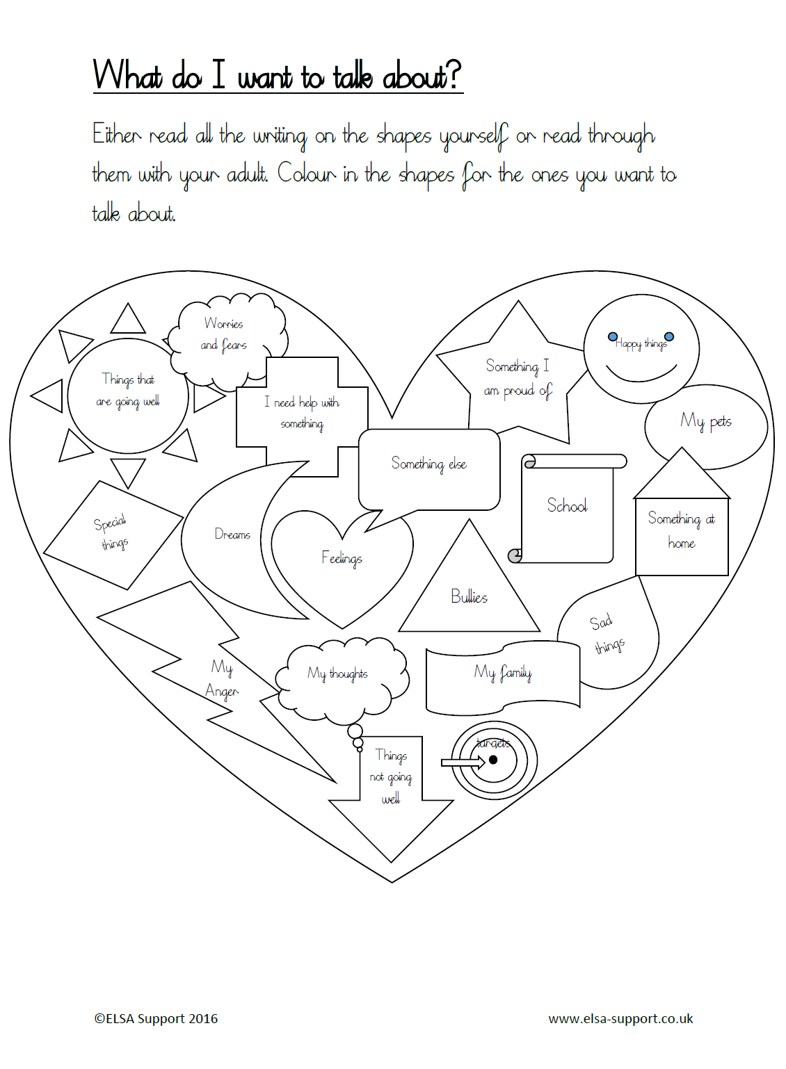 Workbooks wishes and feelings worksheets for children : Counseling worksheets, activities, and games to help children set ...
