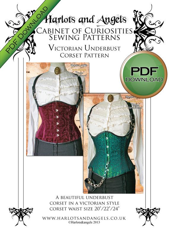 d889ea2f49 Corset Sewing Pattern