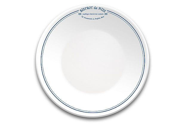 S 6 Porcelain Les Bistrots Plates Midi On Onekingslane Com Journey To A Classic French Bistro Without Ever Leaving Your Home With Plates Tableware Porcelain