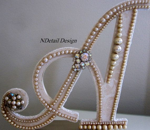 Wedding Cake Topper or Gift Table Display Vintage by NDetailDesign, $275.99