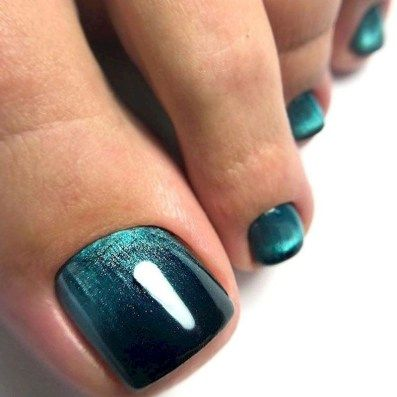 most amazing summer nail color 2019 26  toe nail color